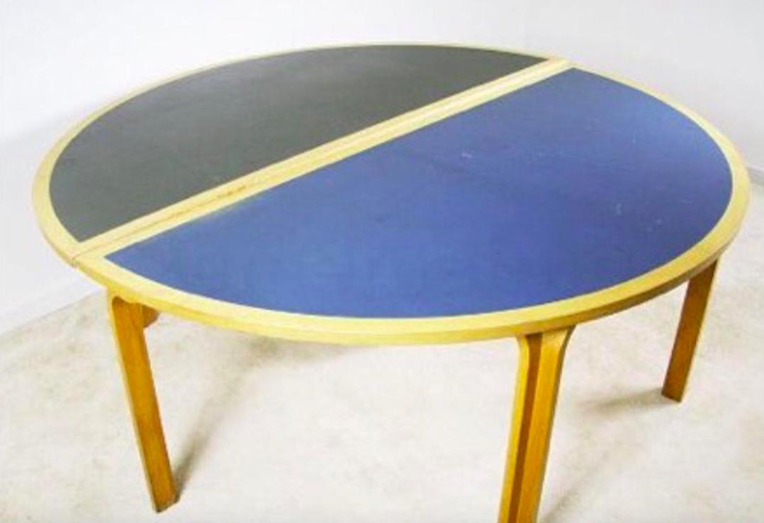 Danish dining table by Magnus Olesen