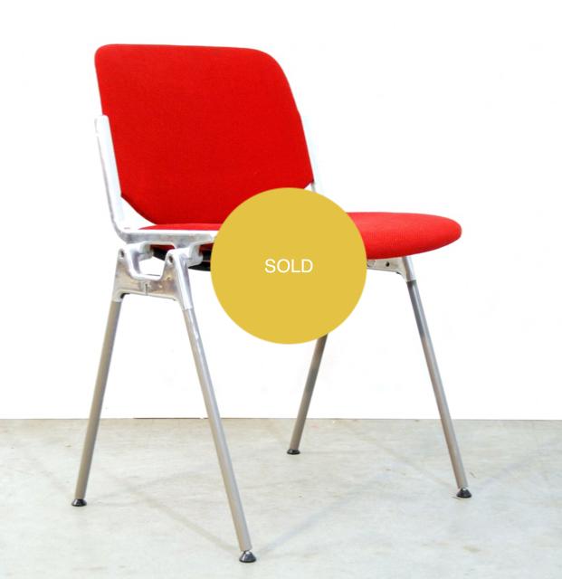 Set of 12 Italian Castelli chairs