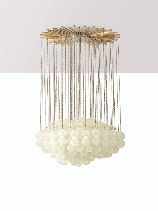 Italian Murano glass ceiling lamp