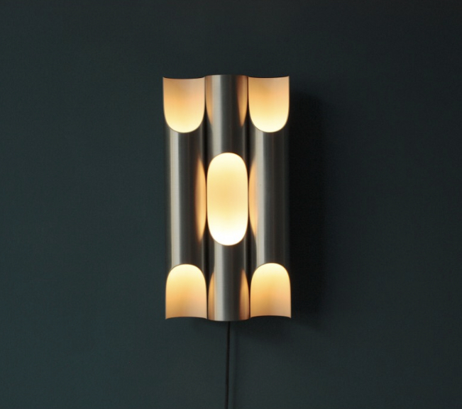Set of 3 Raak wall lamps