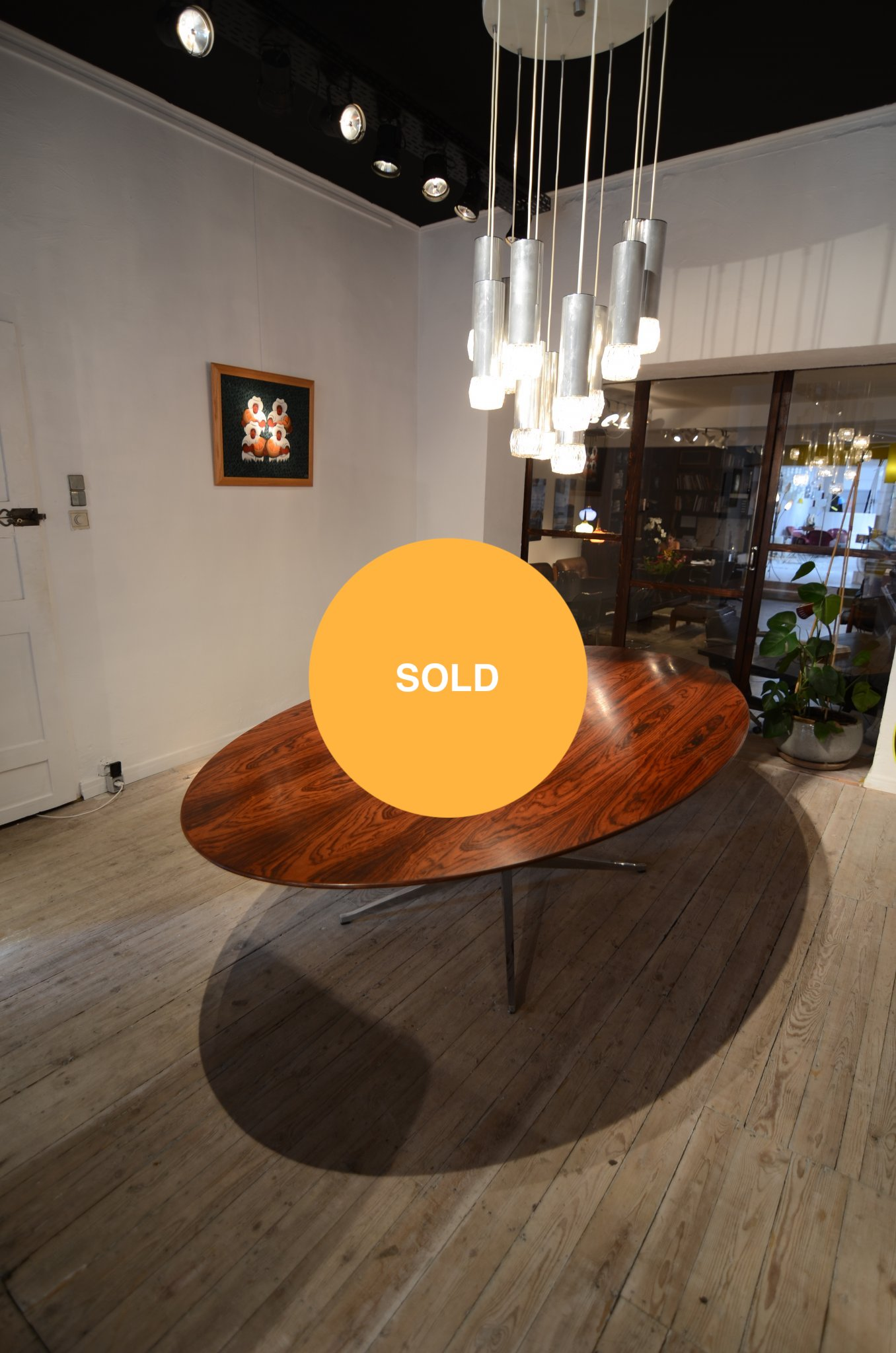 Palissander dining table