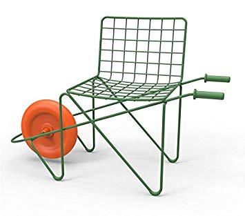 Chaise trotteur brouette