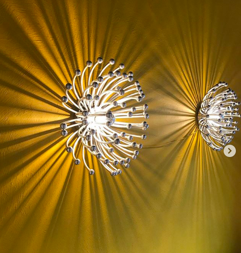 Pair of Pistillo lamps by Valenti Luce
