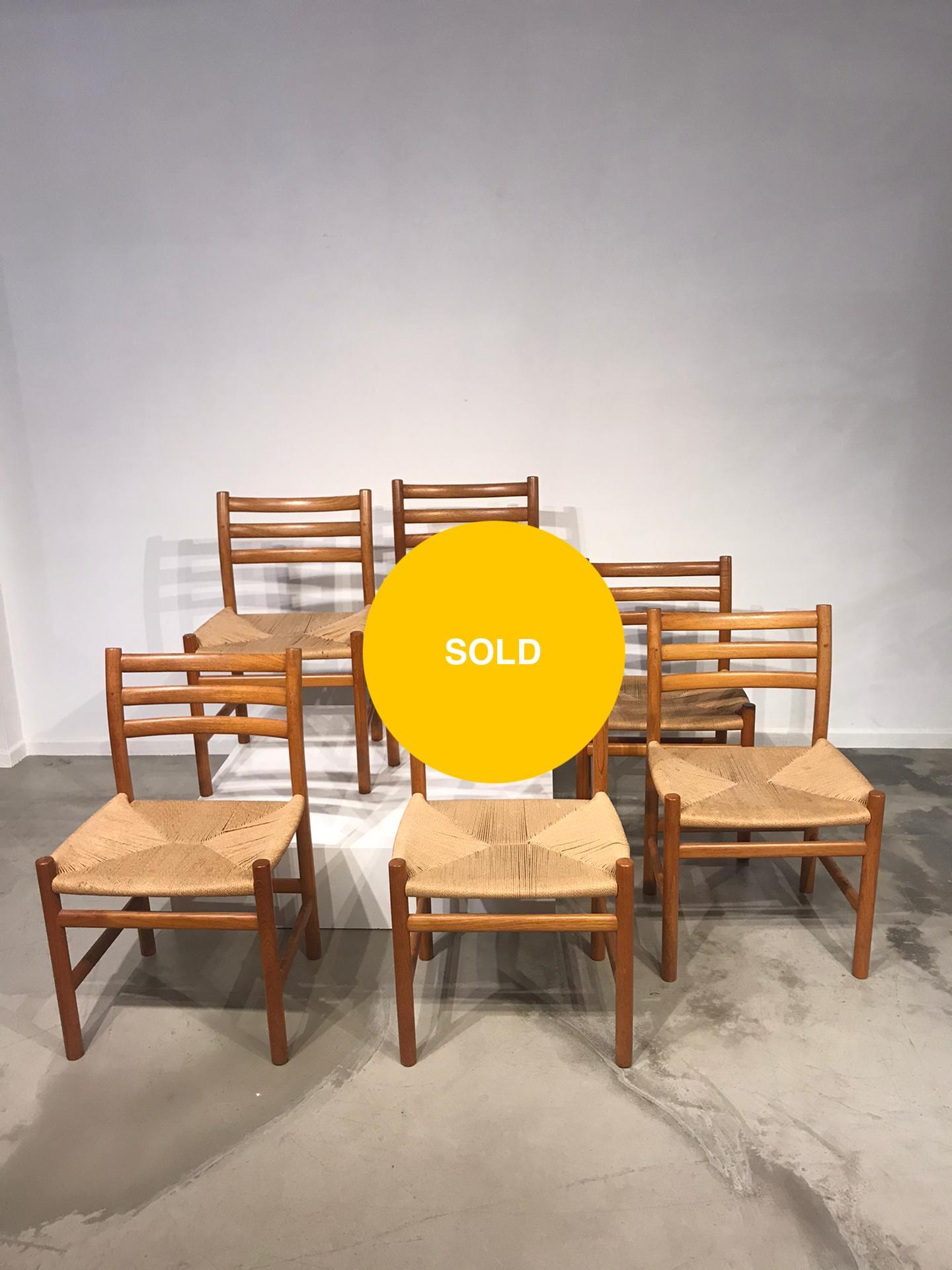 Set of Danish chairs