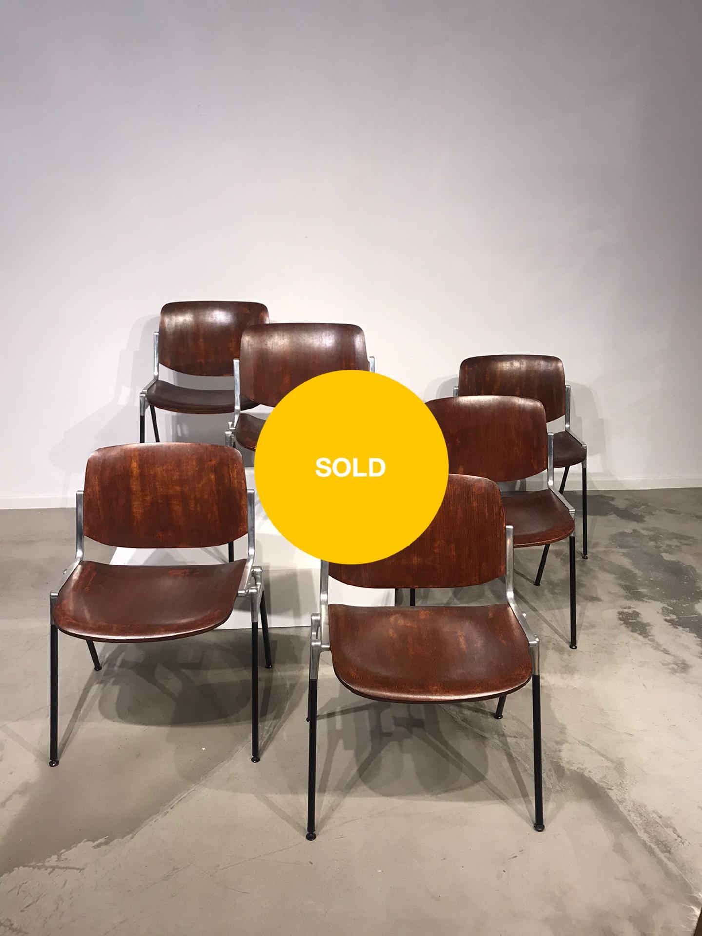 Italian Castelli chairs